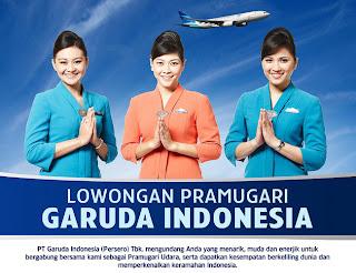Lowongan Pramugari Garuda Indonesia 2011