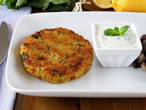 Spiced Quinoa and Sweet Potato Cakes