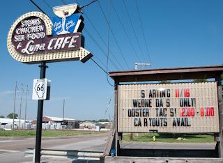 Route 66 Luna Cafe
