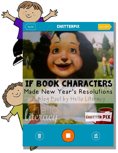 If Book Characters Made New Year's Resolutions Jen Jones/Hello Literacy