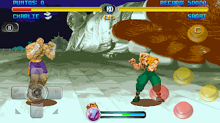 Street Fighter Orignal For Nokia Asha 305 306 311 and Touch Screen Mobiles