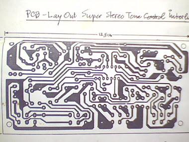 PCB-Stereo Tone Control Interlude