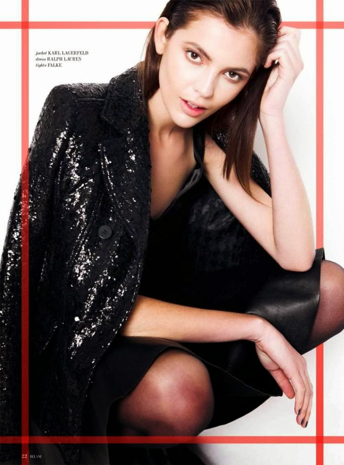 Magazine Photoshoot : Aline Zanella Photoshot For Belane Magazine Switzerland December 2013 Issue