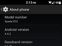 Download Custom ROM Xperia X10 Kitkat CM11 [Stable]