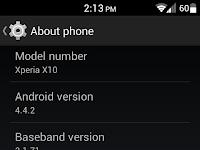 Download Custom ROM Xperia X10 Kitkat CM11 [Stable]