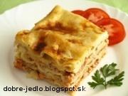 Lasagne s bolonskou omáčkou - recept