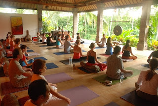 yoga workshop in Bali, yoga class in Ubud