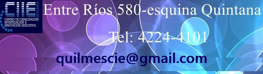 Centro de Investigación Educativa  Quilmes (CIE)
