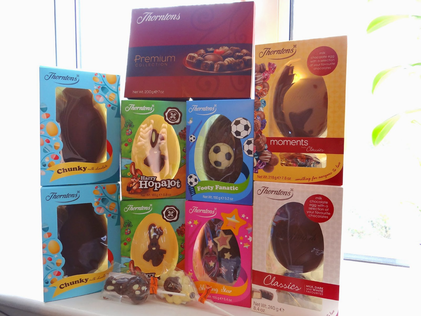 Easter, chocolate eggs, Thorntons chocolate
