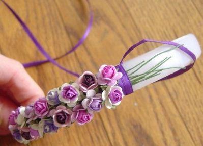 Como hacer diademas de flores para niñas