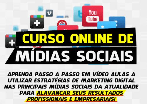 Curso Online de Mídias Sociais
