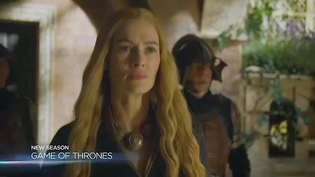 Podemos ver a una Cersei bastante preocupada...