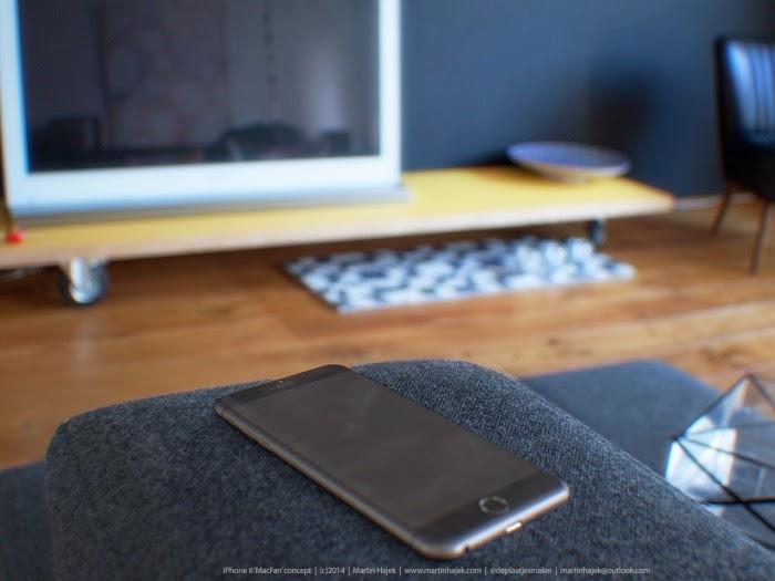 Bộ ảnh thiết kế chính thức của iphone 6