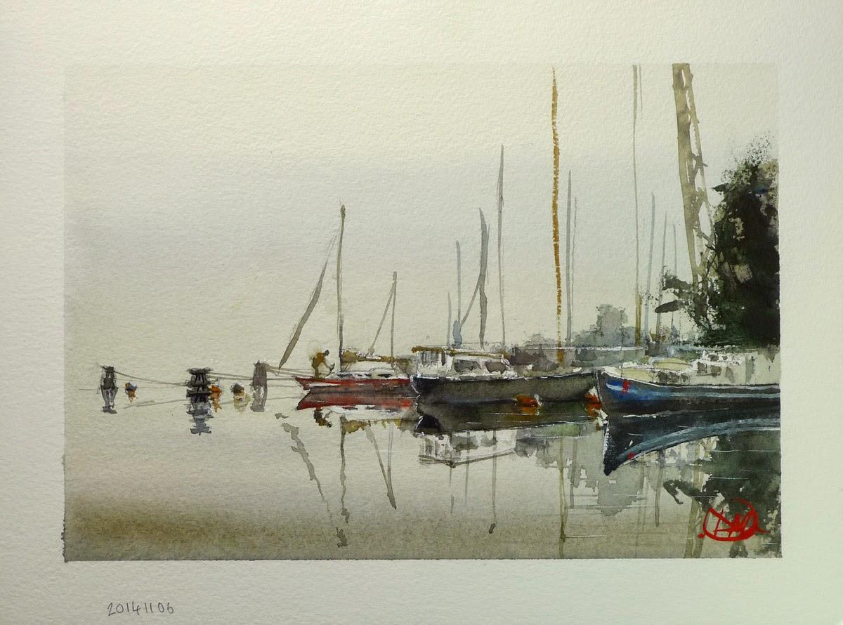 Morning mist by David Meldrum