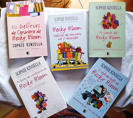 livros Becky Bloom