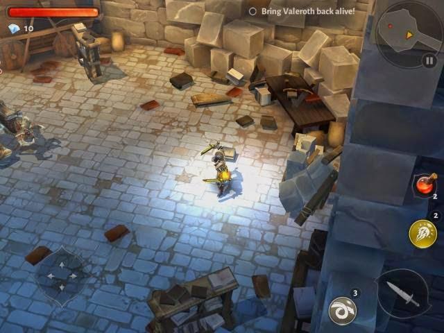Dungeon Hunter 5 Gameplay Screenshoot