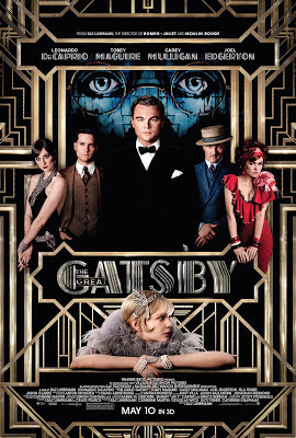 The great gatsby 2013 film large poster