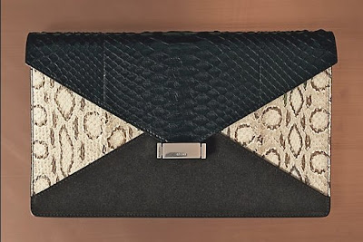 Celine diamond clutch