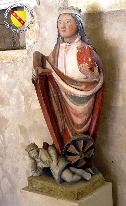 ALLAMPS (54) - vierge à l'enfant (début XVIIe siècle)