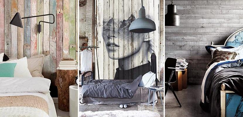 hoy os traigo una alternativa diferente y ecolgica para decorar las paredes de tu hogar o negocio con tablas de madera recuperada - Decorar Paredes Con Madera