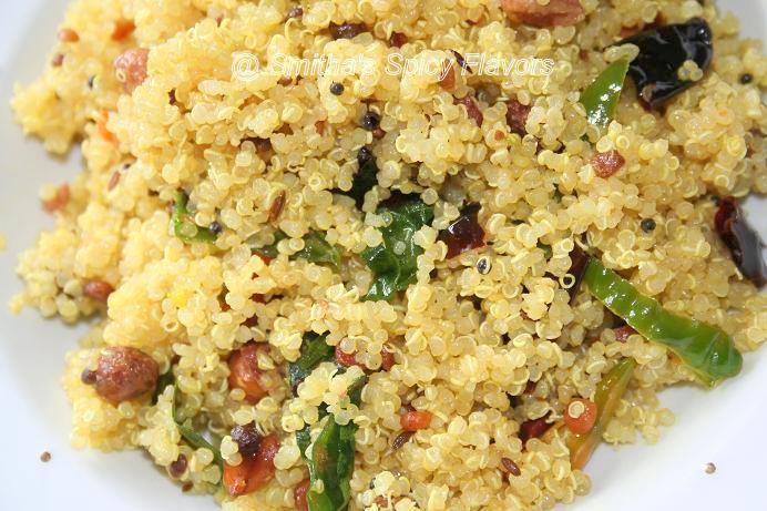 Nimmakai Quinoa, Lemony Quinoa ~ Smitha's Spicy Flavors, Cooking my ...