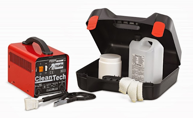 Máy làm sạch mối hàn Inox Cleatech (Ý)