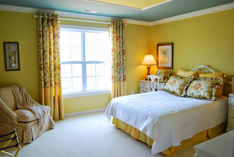 Bedroom Wall Yellow Paint Colors Ideas