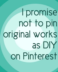 Please respect the work of artists/crafters I post here by not pinning their work as DIY