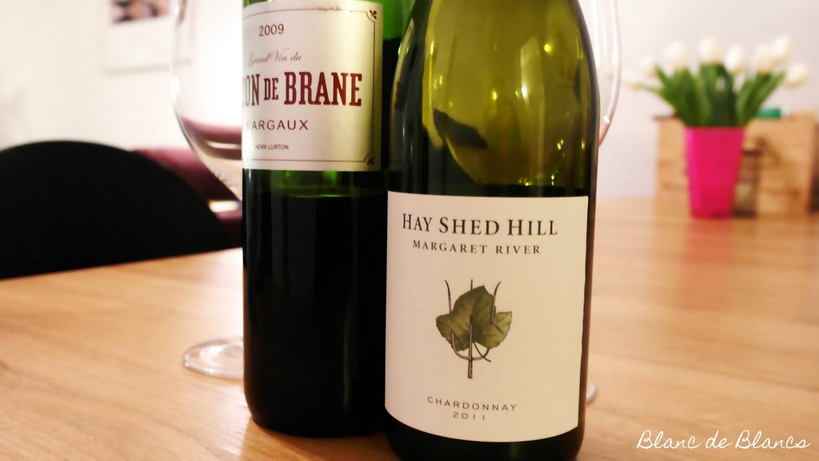 Le Baron de Brane 2009 ja Hay Shed Hill Chardonnay 2011 - www.blancdeblancs.fi