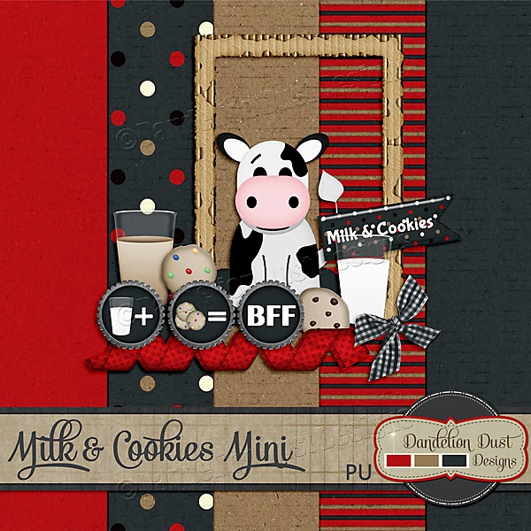 Preview of Milk and Cookies by Dandelion Dust Designs