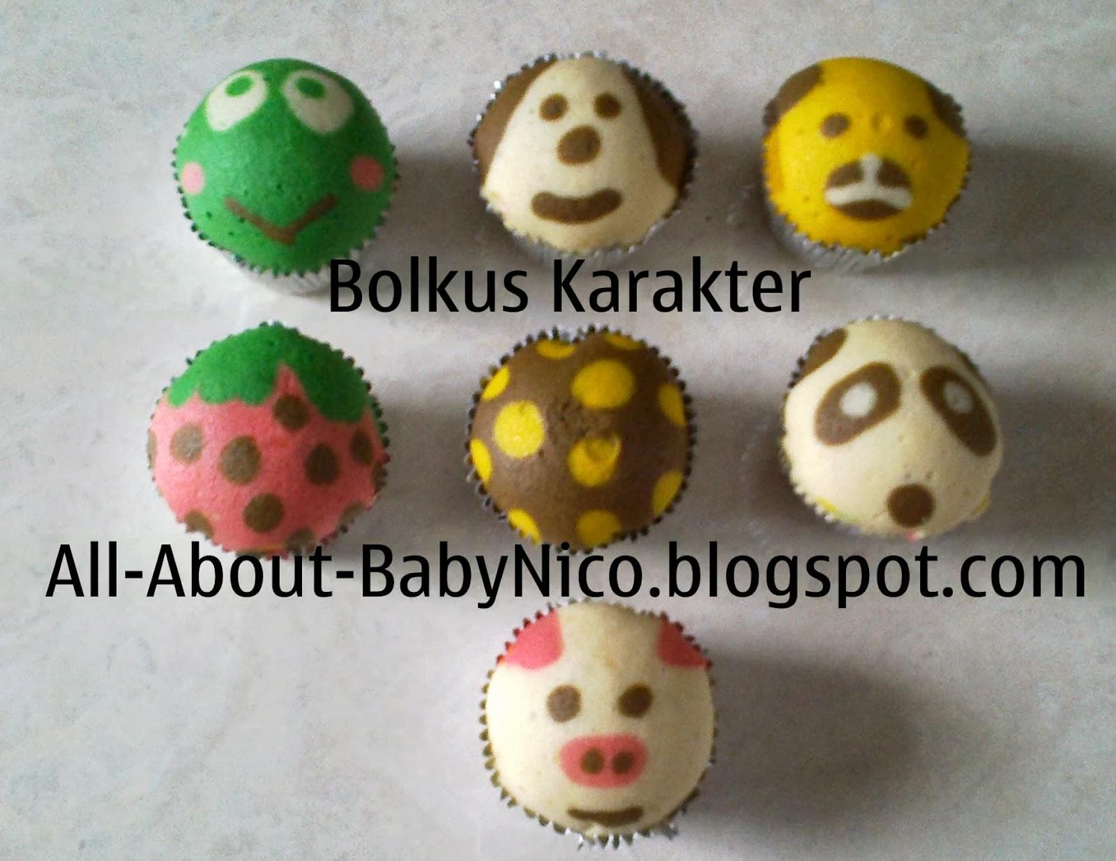 All About Baby Nico: Bolu Kukus Karakter (Bolu Kukus Gundul)