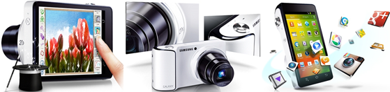 Samsung Galaxy Camera's WiFi & 3G
