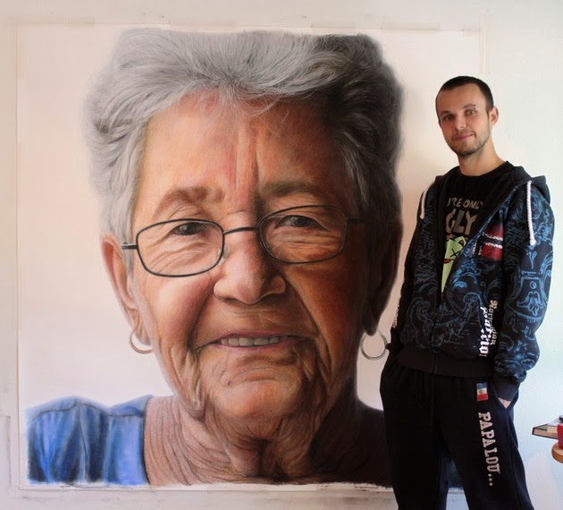 color pencil portraits by Dino Tomic-1