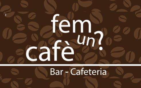 Fem un cafè?