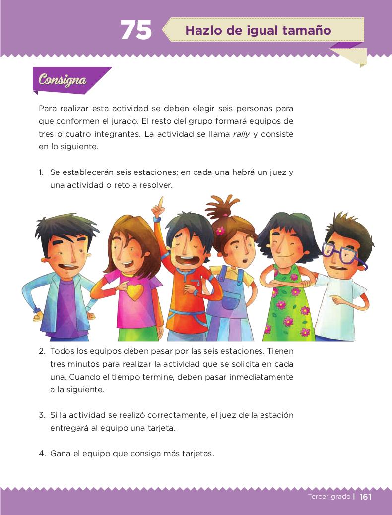 Hazlo de igual tamaño - Desafios matemáticos 3ro Bloque 5/2014-2015