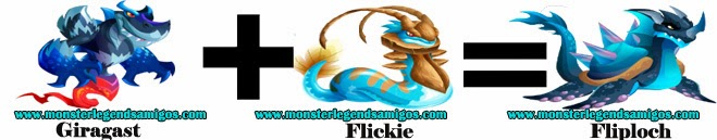como obtener el monstruo fliploch en monster legends formula 4