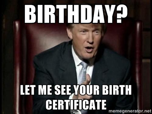 Birthday Cake Puppet Meme