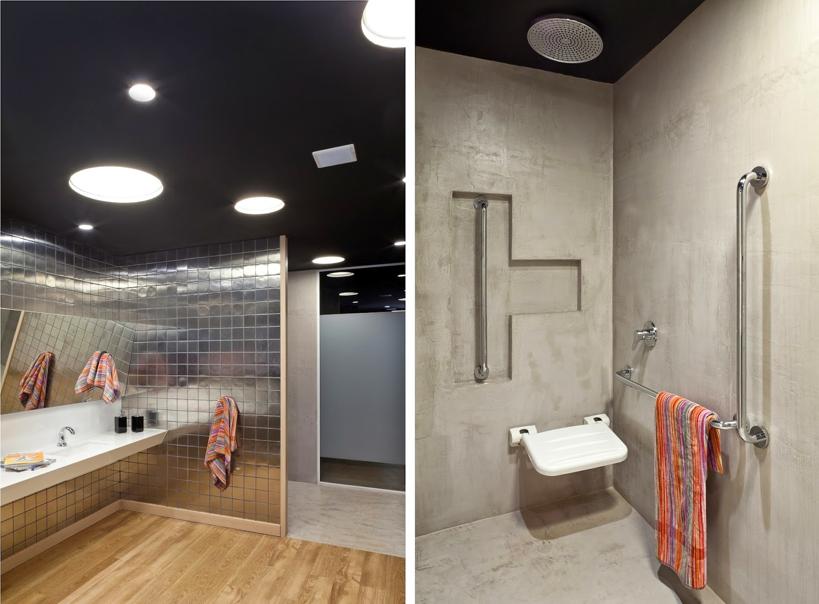 Banheiro Adaptado #A34228 1600x1180 Altura Bancada Banheiro Deficiente
