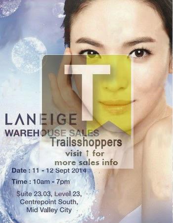 2014 Laneige Malaysia Warehouse sale