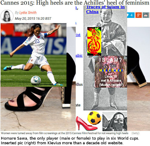 BBC constantly failed to report about the incredible Japanese football women in WWC 2015
