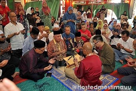 Sami berusia 66 tahun memeluk agama Islam