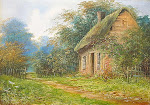"""Click on the photo to go to my """"Country Lane Cottage"""" blog."""