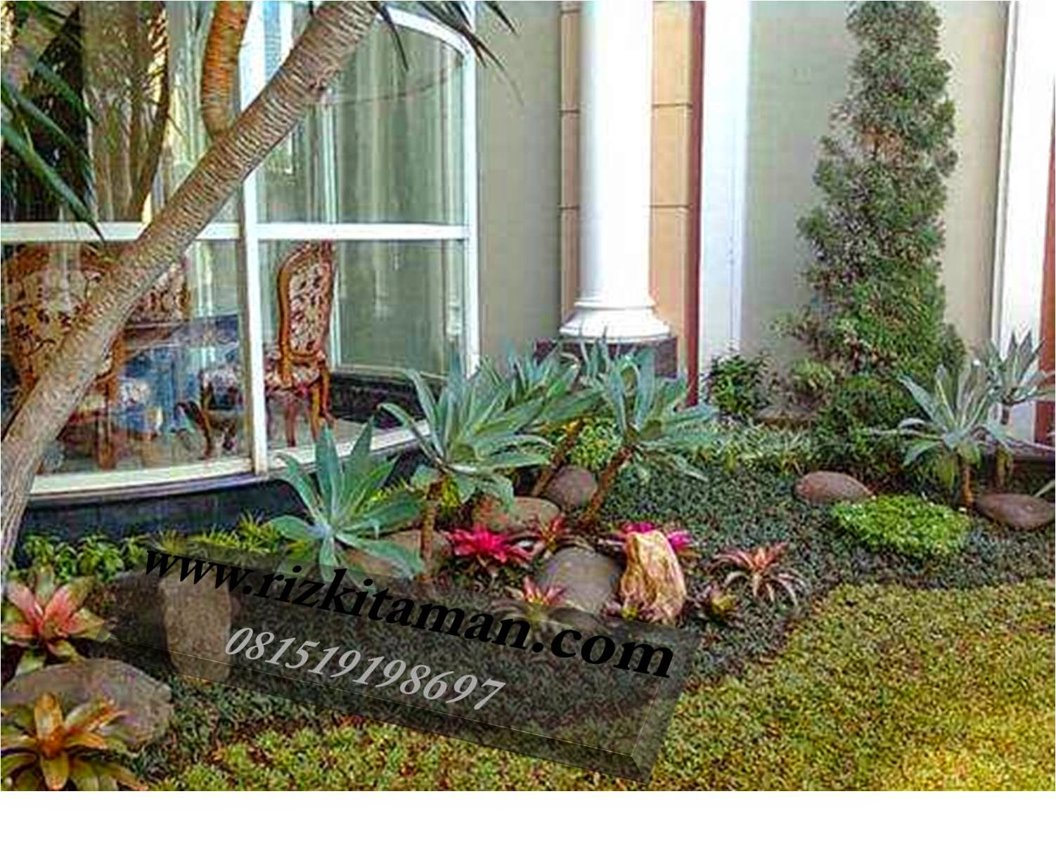 Tukang taman rumahan | jasa tanam rumput dan pembuatan taman minimalis