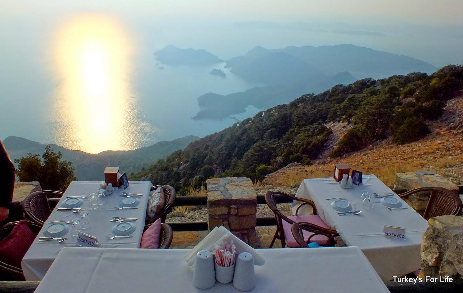 Zirve Cafe, Babadağ Mountain, Ölüdeniz, Turkey