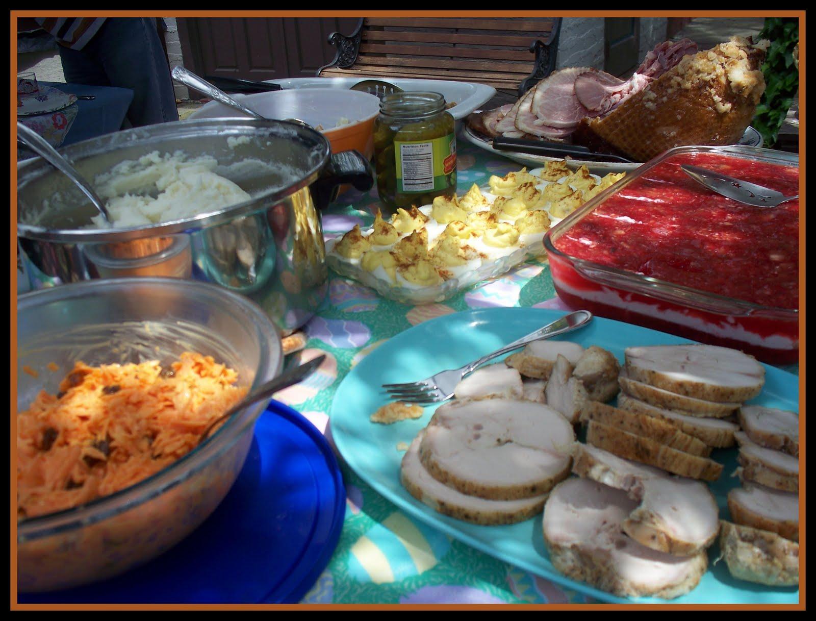 Traveling lighter april 2011 for Dessert for easter dinner
