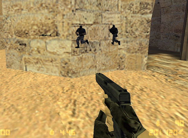 Cheat Wallhack Counter Strike 1.6, cara cheat Counter Strike online, aplikasi cheat CS 1.6 offline dan online, cheat Work 100% wallhack counter strike 1.6