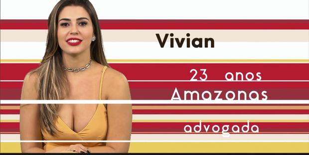 'BBB 17': Conheça Vivian Amorim, uma das gatas da nova edição