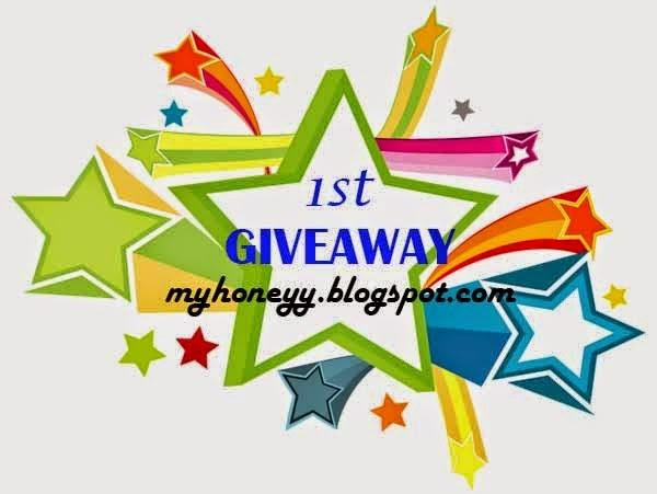 1st Giveaway myhoneyy.blogspot.com