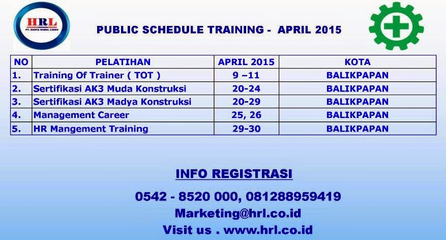 UP COMING TRAINING