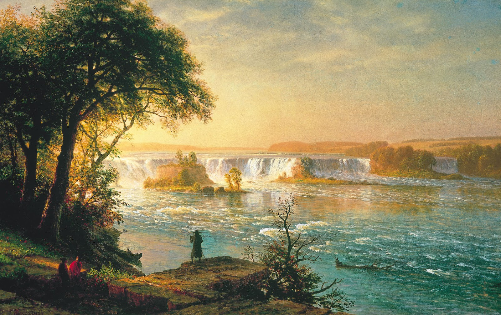 St Anthony S Falls Painting